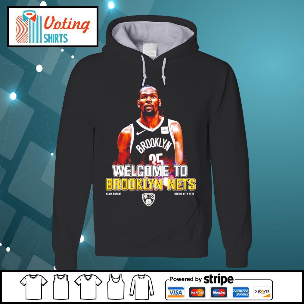 Kevin Durant Brooklyn Nets s hoodie