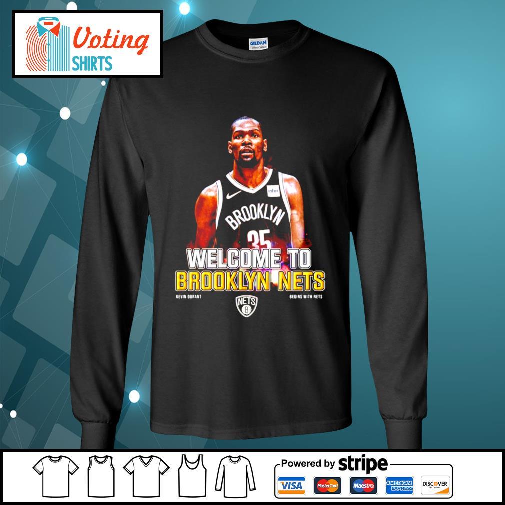 Kevin Durant Brooklyn Nets s longsleeve-tee
