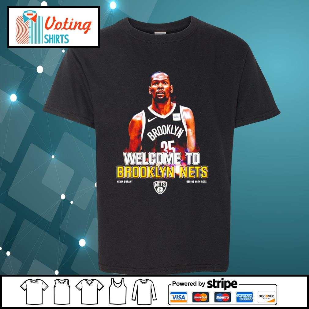 Kevin Durant Brooklyn Nets s youth-tee