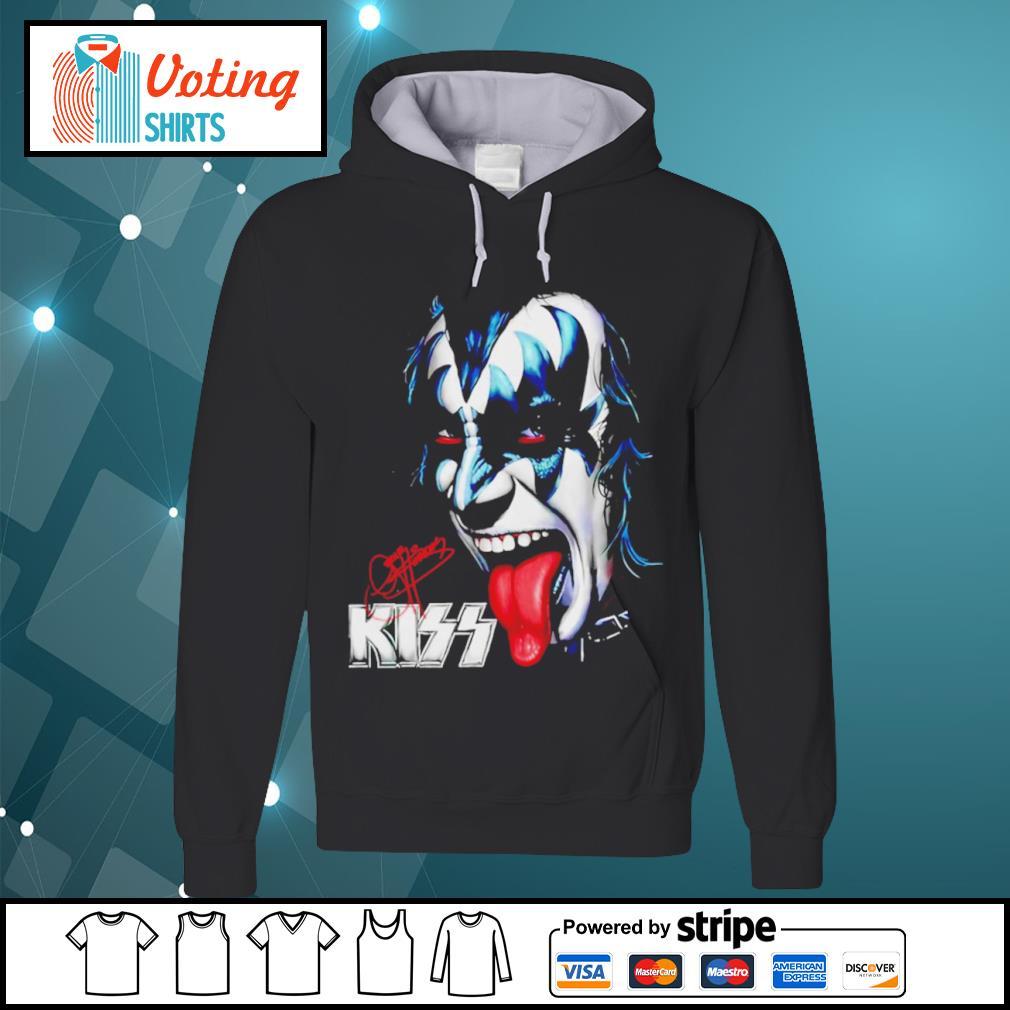Kiss signature music band s hoodie