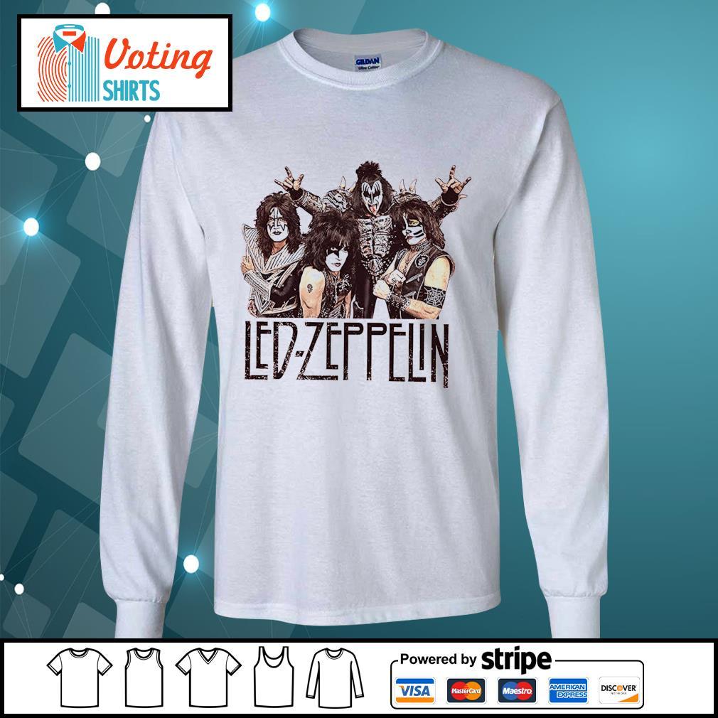 Led-Zeppelin Babydoll s longsleeve-tee