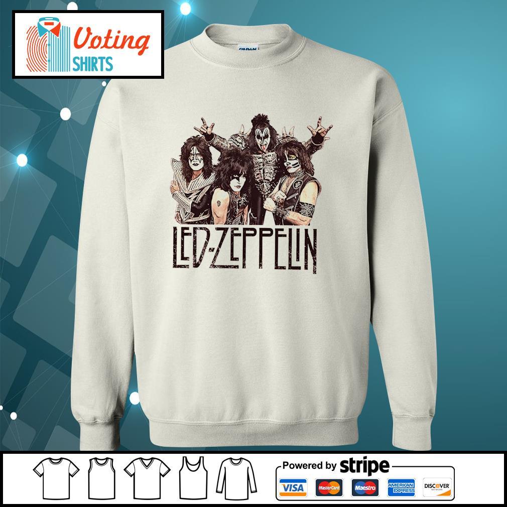 Led-Zeppelin Babydoll s sweater