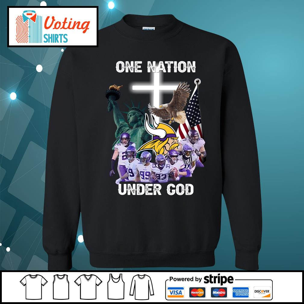 Minnesota Vikings one nation under god s sweater