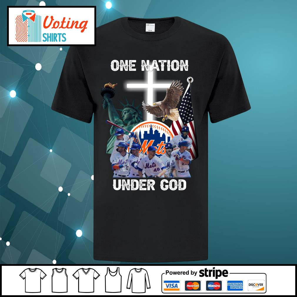 New York Mets one nation under God shirt