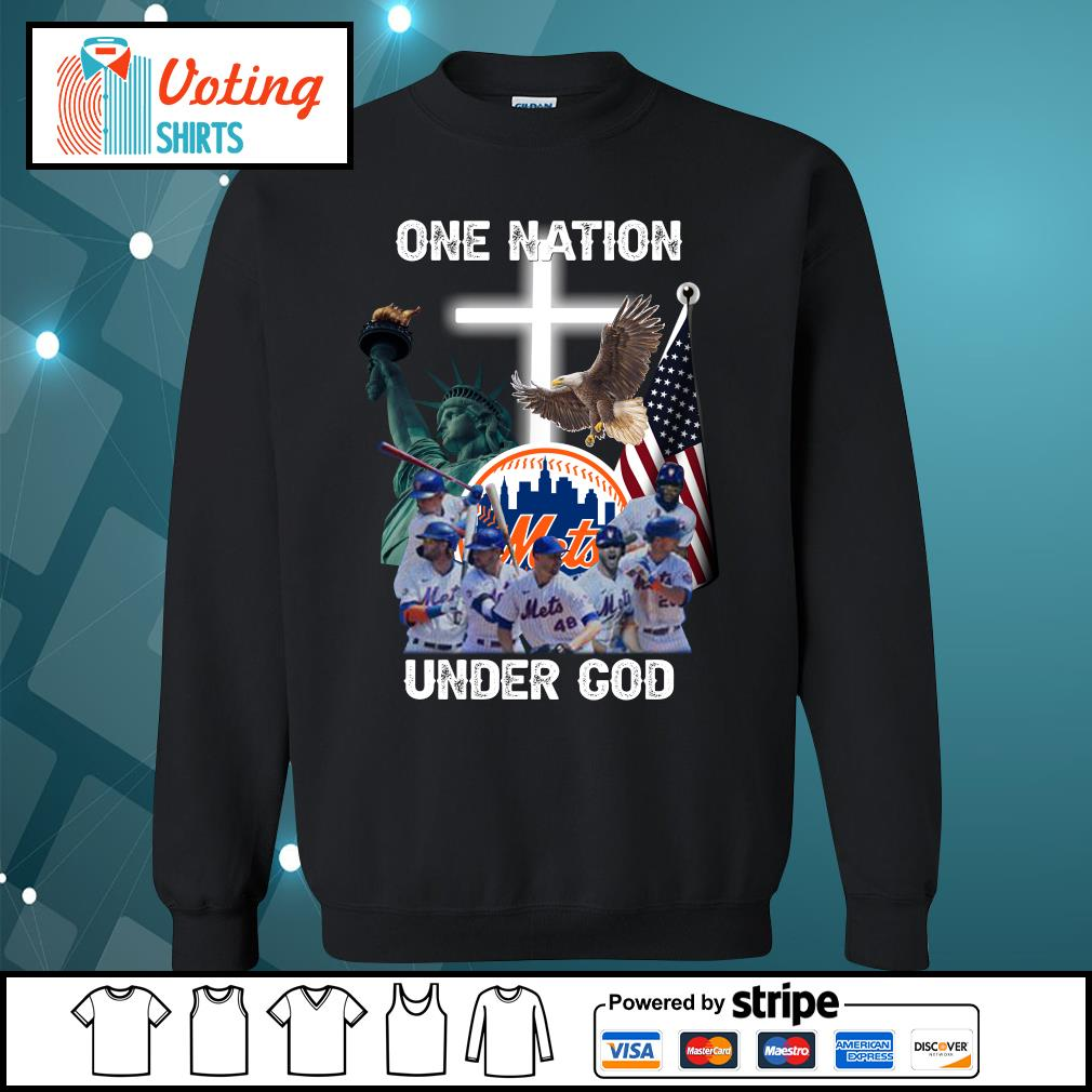 New York Mets one nation under God s sweater