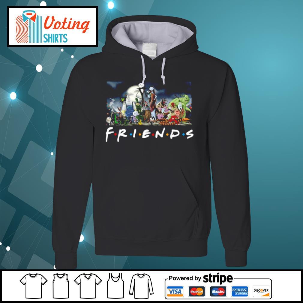 Nightmare Before Christmas characters Friends s hoodie