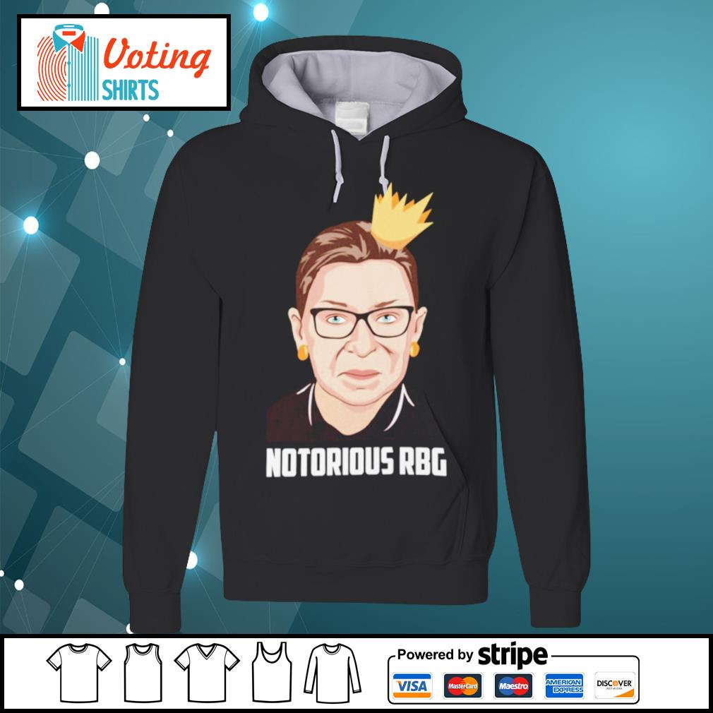 Notorious RBG Ruth Bader Ginsburg love s hoodie