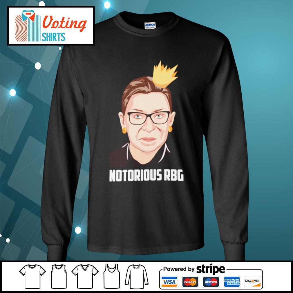 Notorious RBG Ruth Bader Ginsburg love s longsleeve-tee
