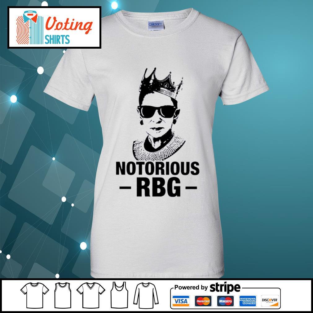 Notorious RBG Ruth Bader Ginsburg nice s ladies-tee
