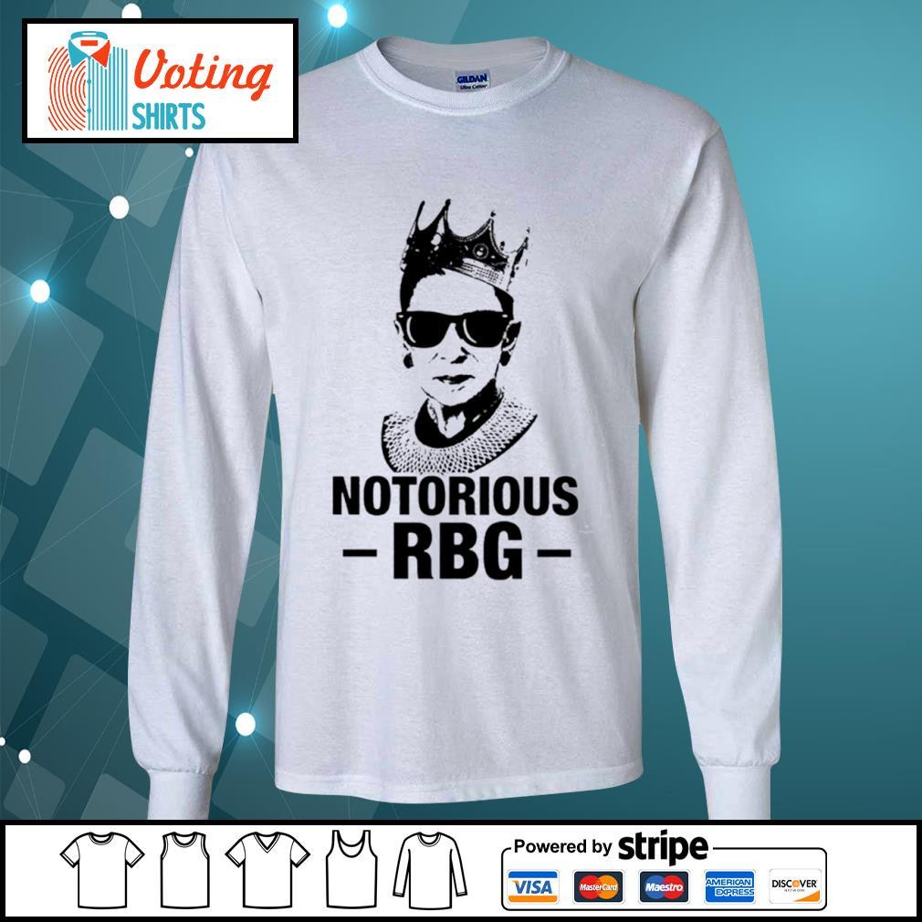 Notorious RBG Ruth Bader Ginsburg nice s longsleeve-tee