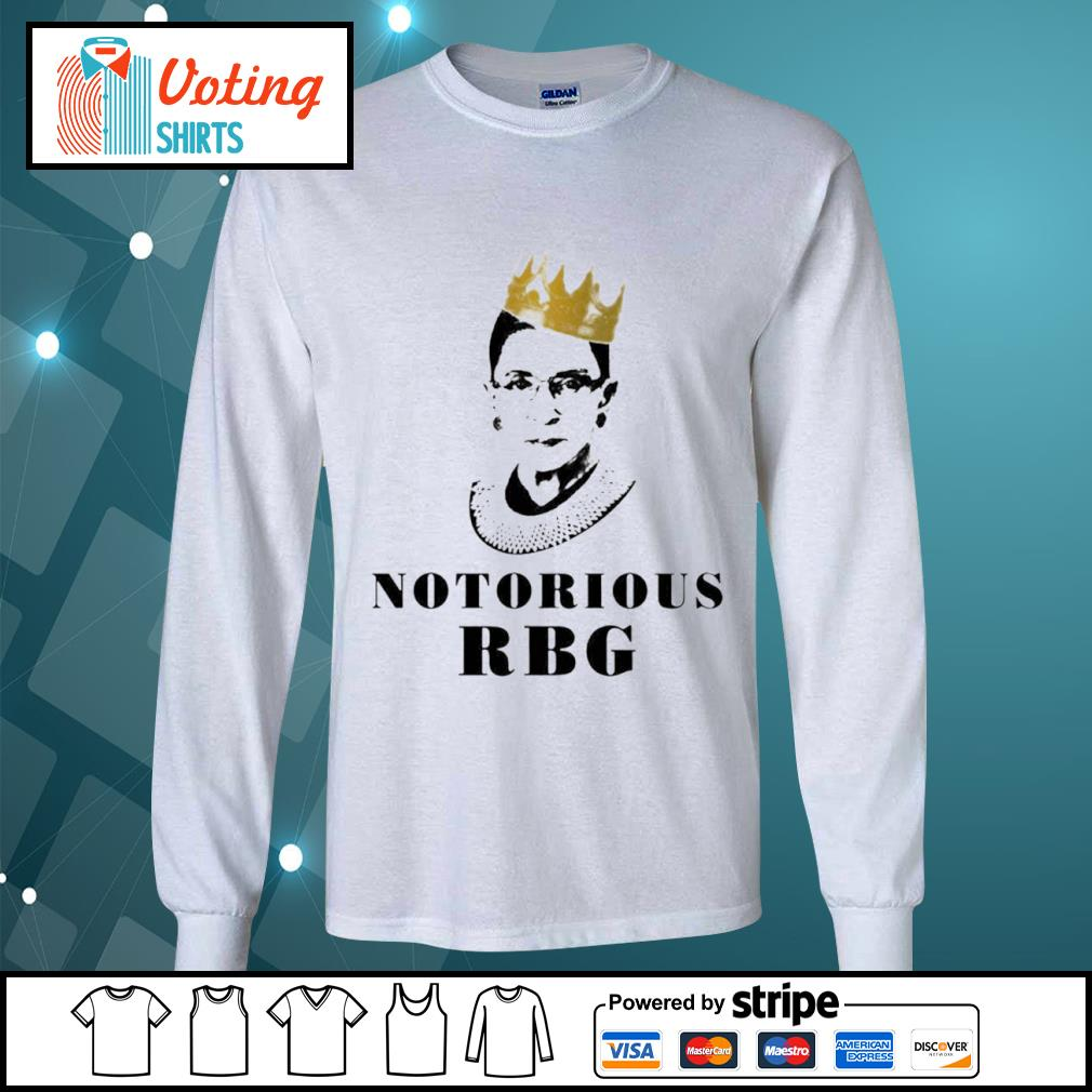 Notorious RBG Ruth Bader Ginsburg s longsleeve-tee