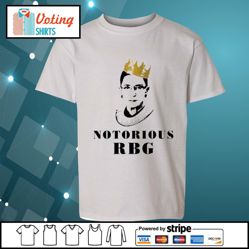 Notorious RBG Ruth Bader Ginsburg s youth-tee