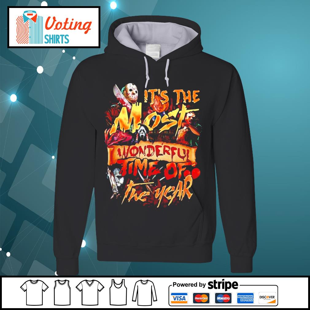 Official it's the most wonderful time of the year Halloween s hoodie