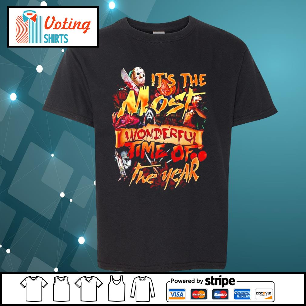 Official it's the most wonderful time of the year Halloween s youth-tee