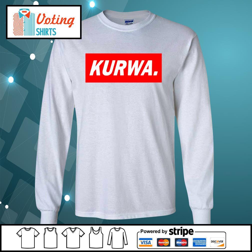 Official Kurwa s longsleeve-tee