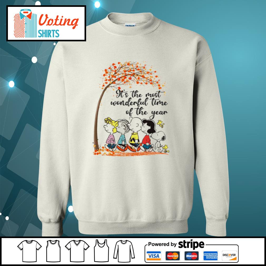Peanuts It's the most wonderful time of the year s sweater