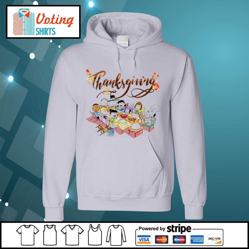 Peanuts Party Thanksgiving s hoodie