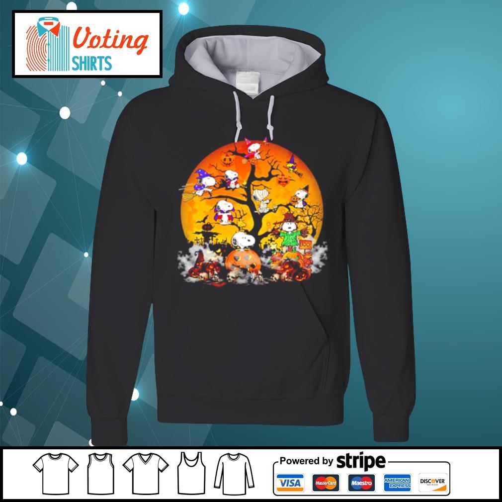 Peanuts Snoopy Halloween tree s hoodie