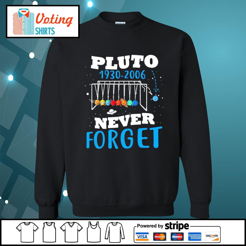 Pluto 1930 2006 never forget s sweater