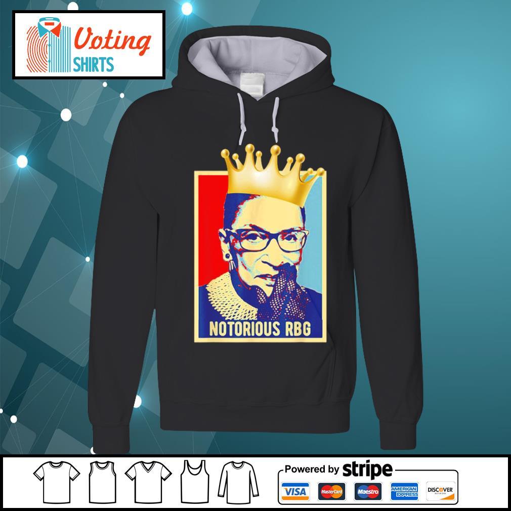 Retro vintage Notorious RBG Ruth Bader Ginsburg s hoodie