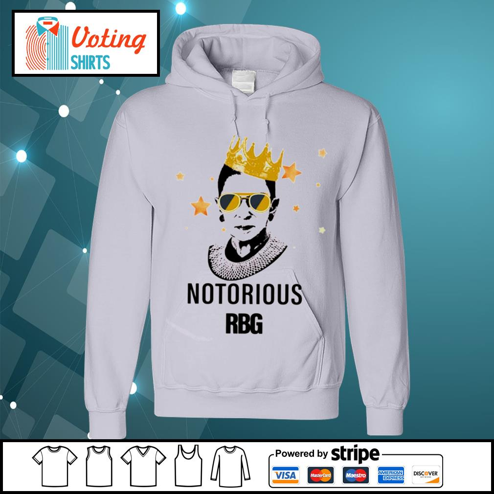 Ruth Bader Ginsburg queen notorious RBG s hoodie