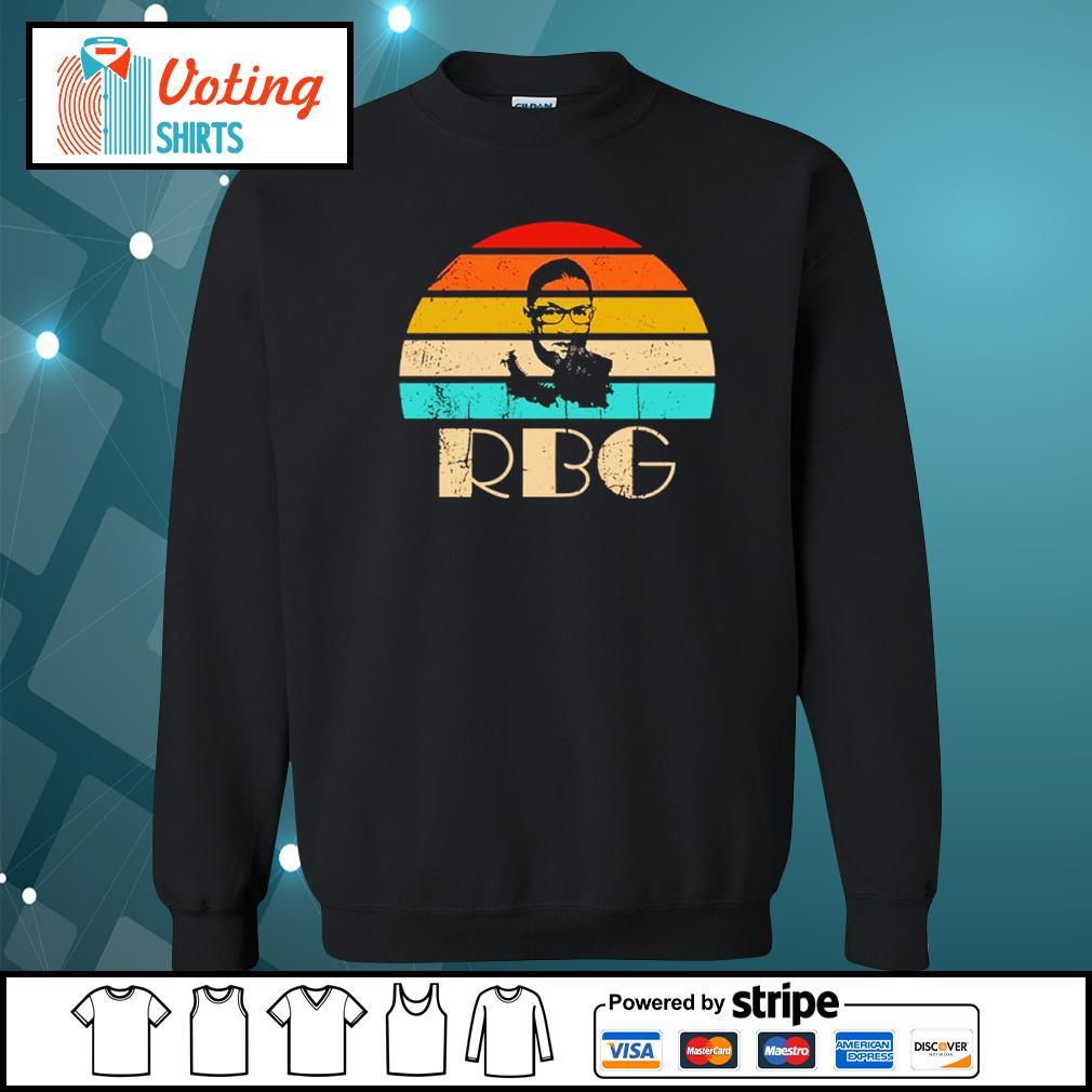 Ruth Bader Ginsburg RBG vintage s sweater