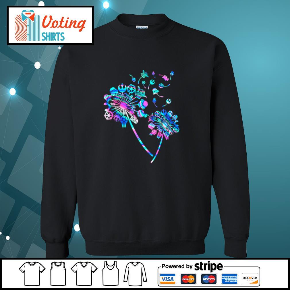 Star Wars Dandelion flowers s sweater