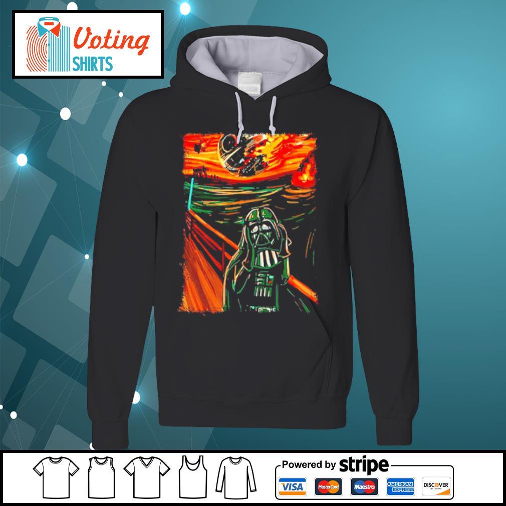 Star Wars Darth Vader The Scream old art painting s hoodie
