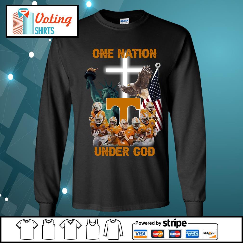 Tennessee Volunteers one nation under god s longsleeve-tee