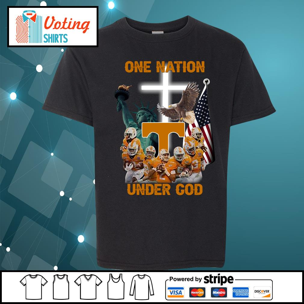 Tennessee Volunteers one nation under god s youth-tee