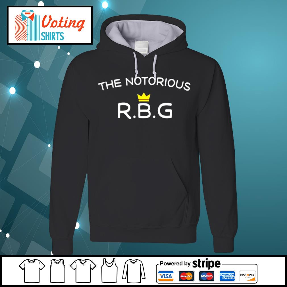 The Notorious RBG Ruth Bader Ginsburg queen s hoodie