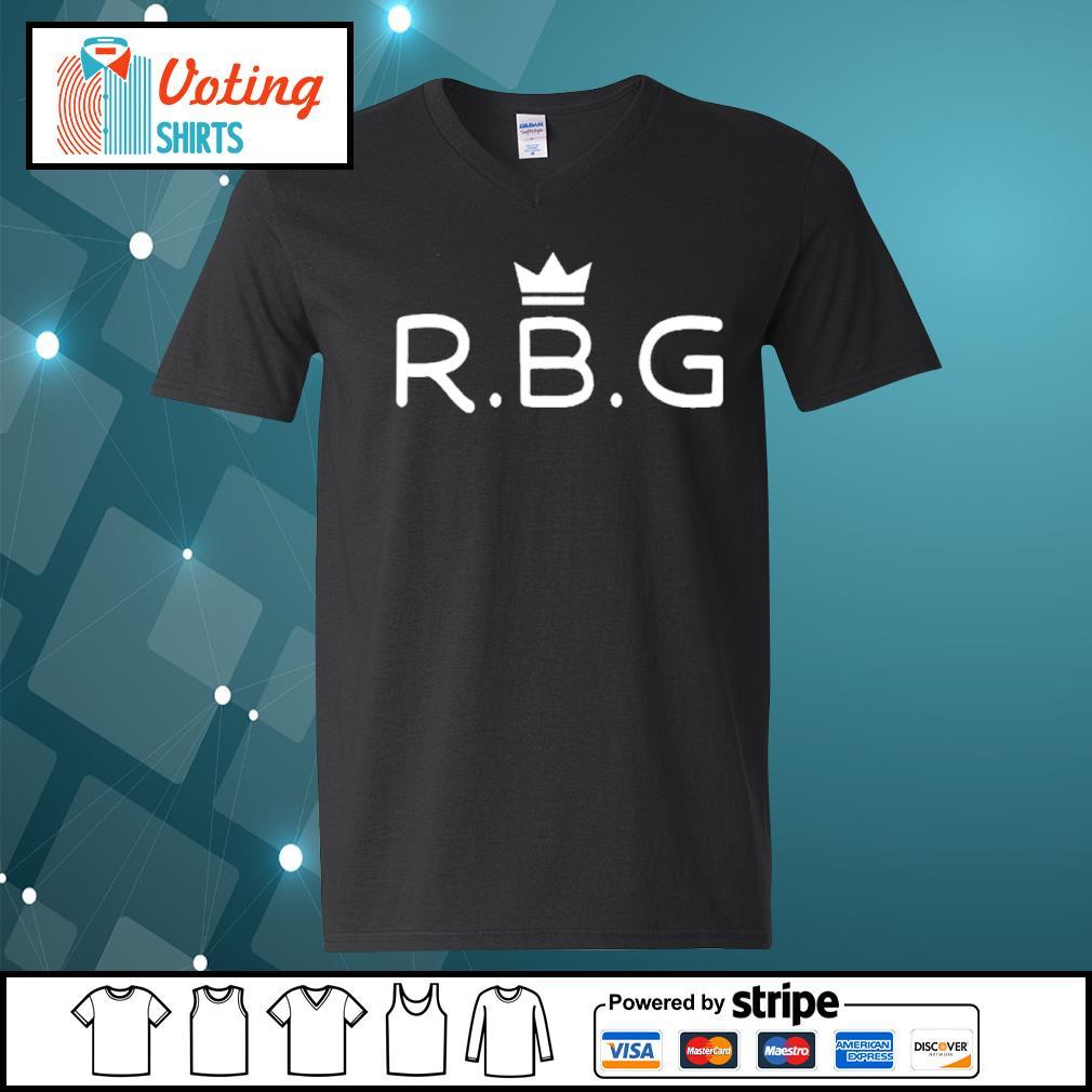 The Notorious RBG Ruth Bader Ginsburg s v-neck-t-shirt
