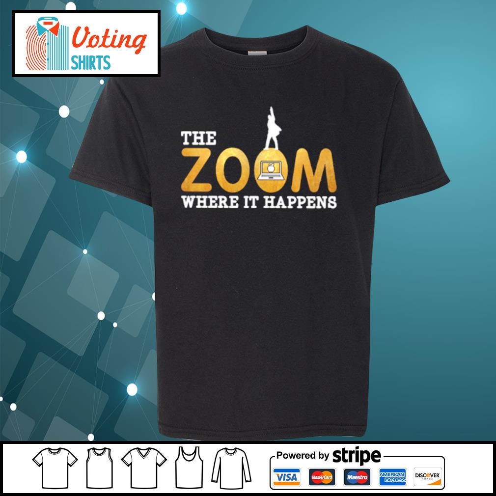 The zoom where it happens s youth-tee