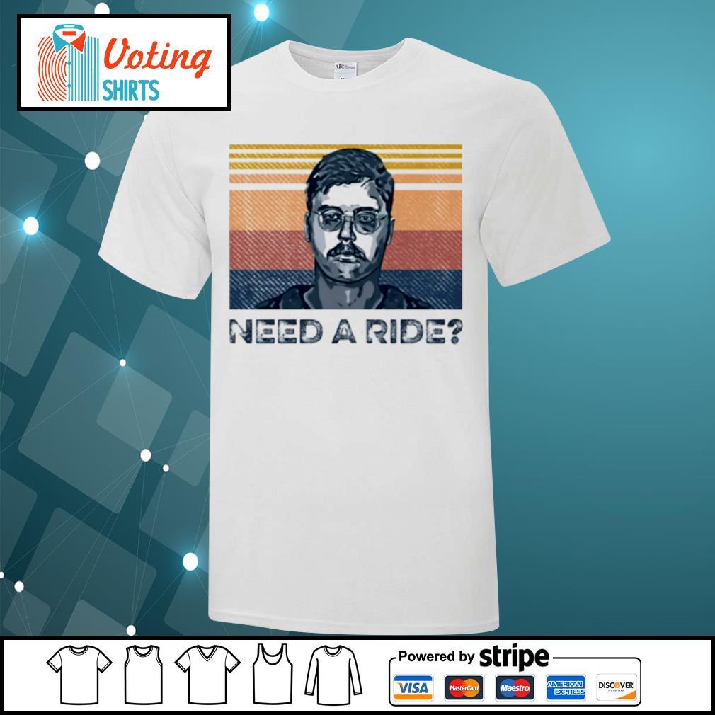 True Crime need a ride vintage shirt