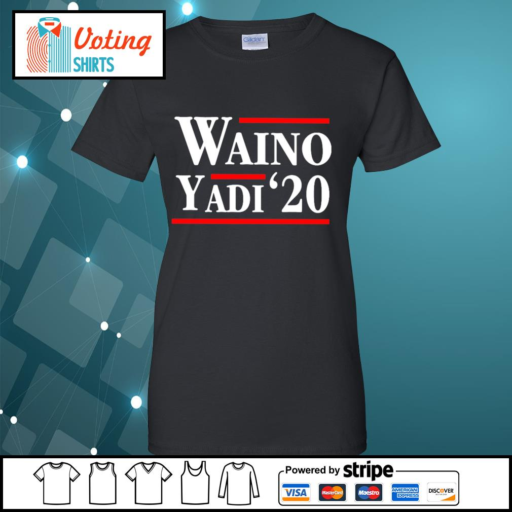 Waino Yadi 2020 s ladies-tee