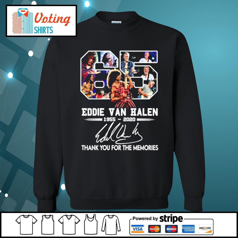 65 Eddie Van Halen 1955-2020 thank you for the memories s sweater