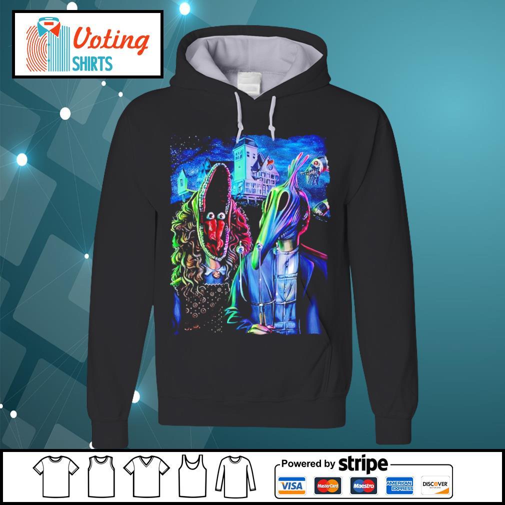 Beetlejuice art American Gothic s hoodie