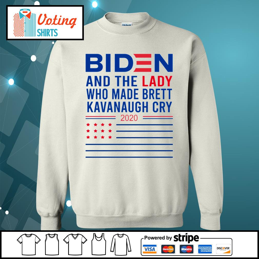 Biden and the lady who made Brett Kavanaugh cry 2020 s sweater