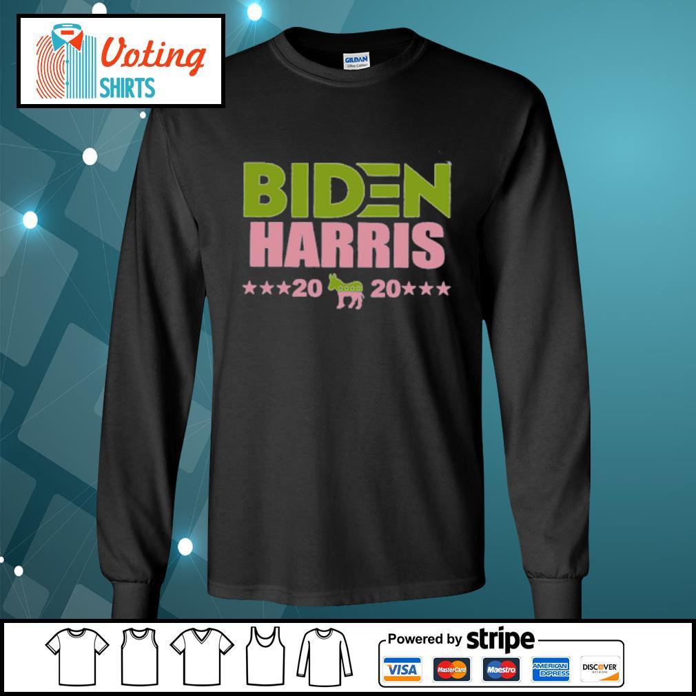 Biden Harris 2020 donkey s longsleeve-tee