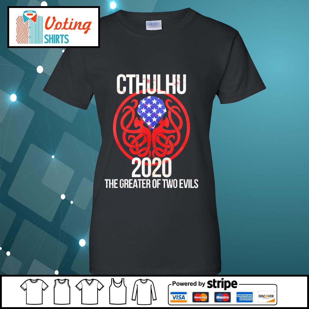 Cthulhu 2020 the greater of two evils s ladies-tee