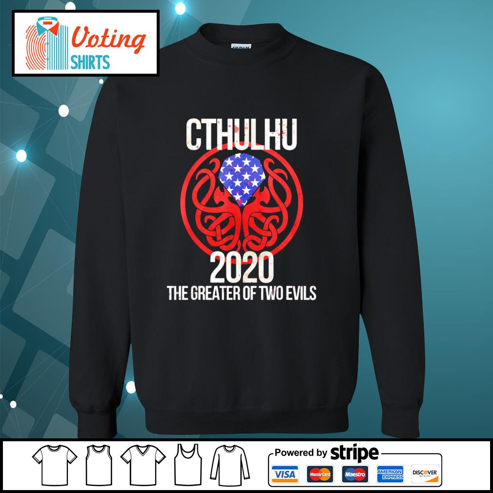 Cthulhu 2020 the greater of two evils s sweater