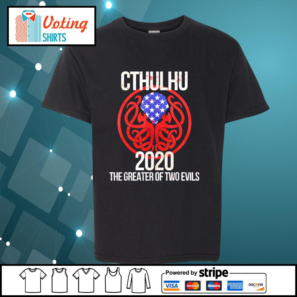 Cthulhu 2020 the greater of two evils s youth-tee
