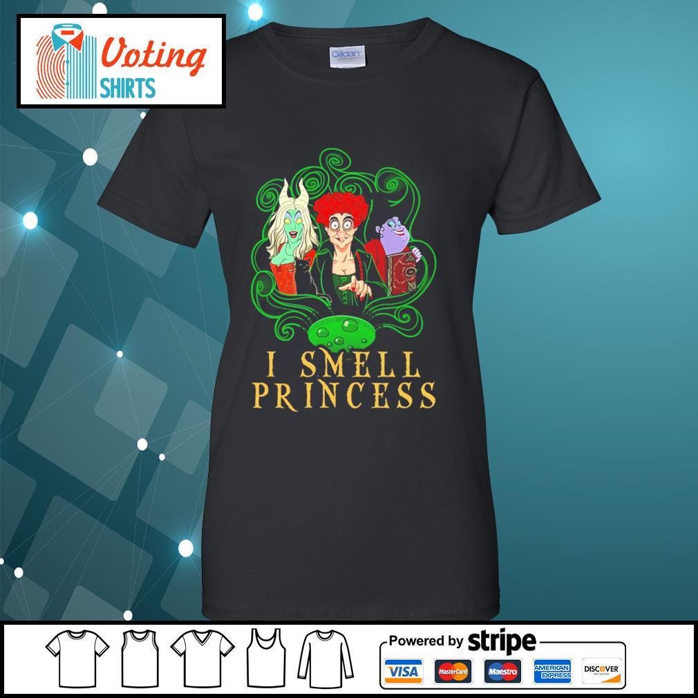 Disney Hocus Pocus I smell Princess s ladies-tee