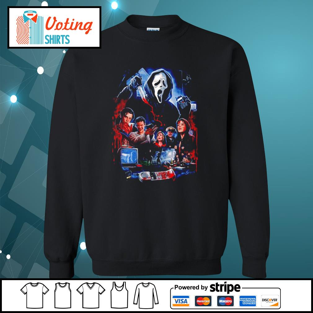 Don't you blame the movies s sweater