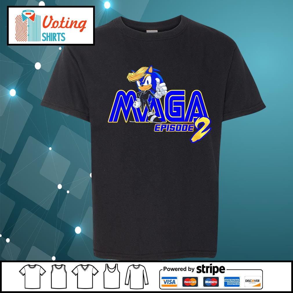 Donald Trump Sonic Maga episode 2 s youth-tee