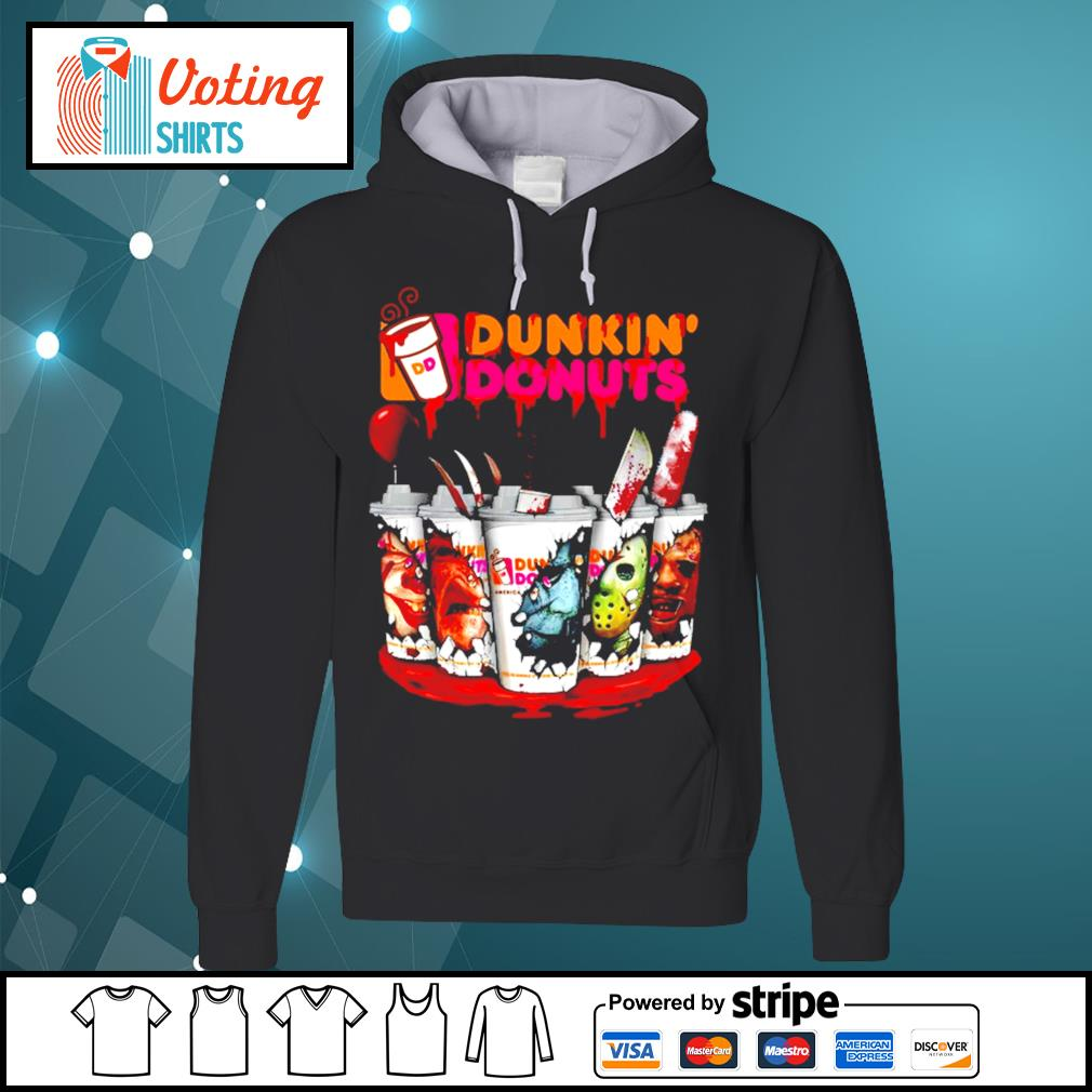 Dunkin' Donuts horror characters Tumbler cup s hoodie