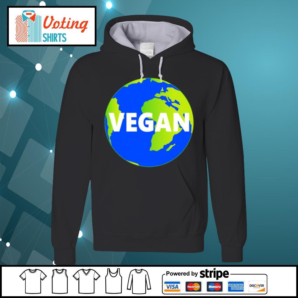 Earth Day vegan s hoodie