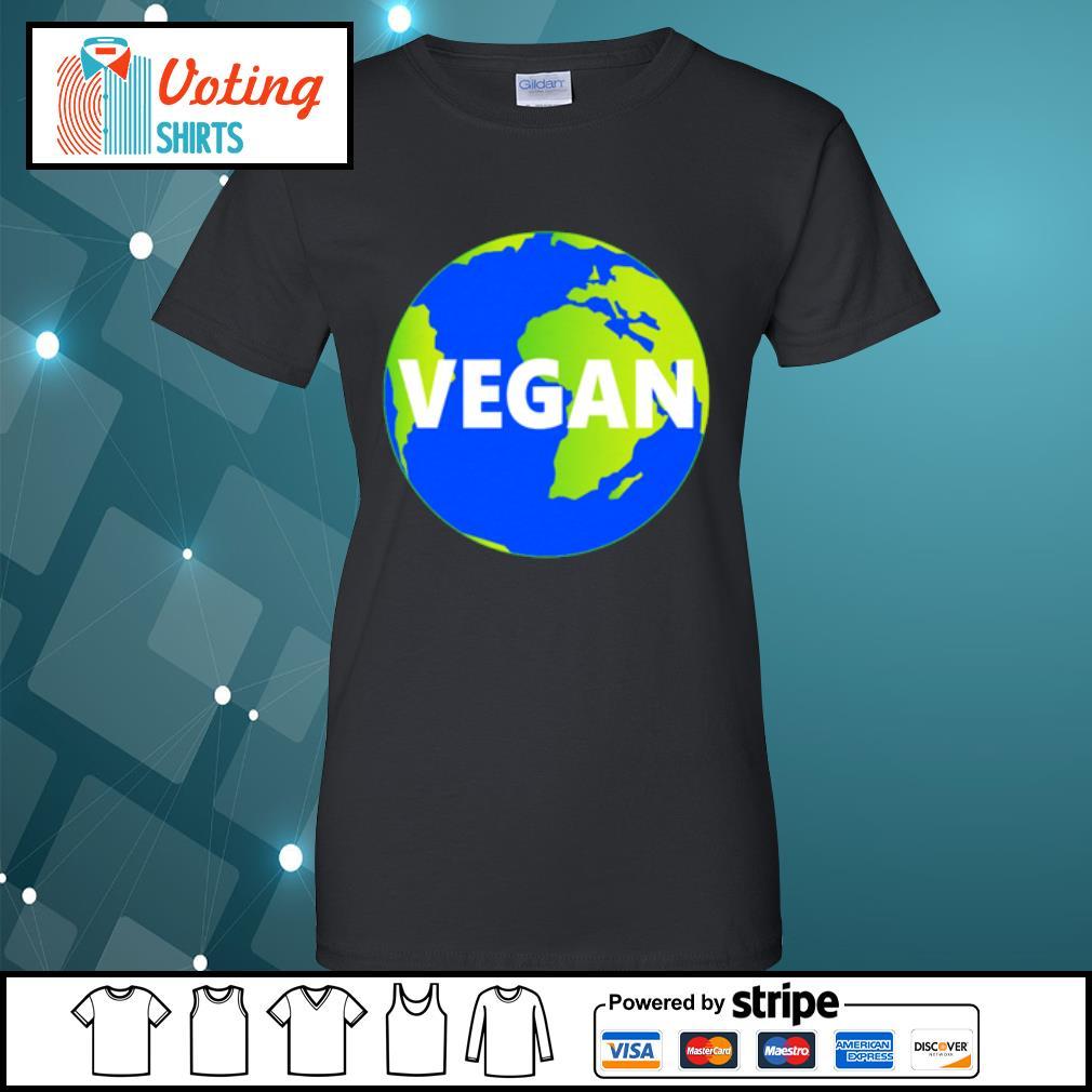 Earth Day vegan s ladies-tee