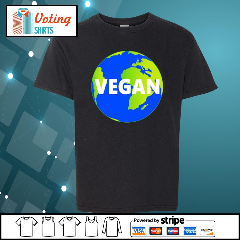 Earth Day vegan s youth-tee