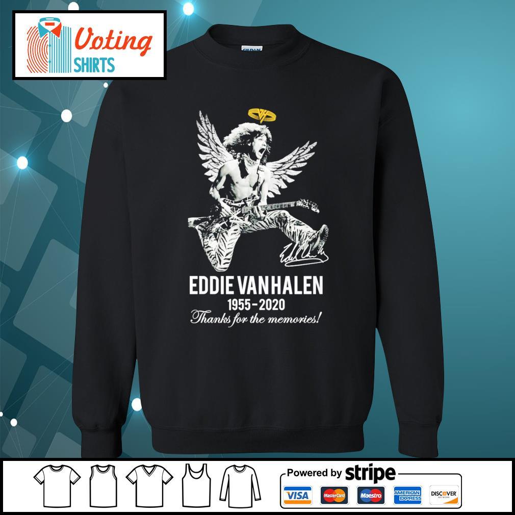 Eddie Van Halen 1955-2020 thanks for the memories s sweater